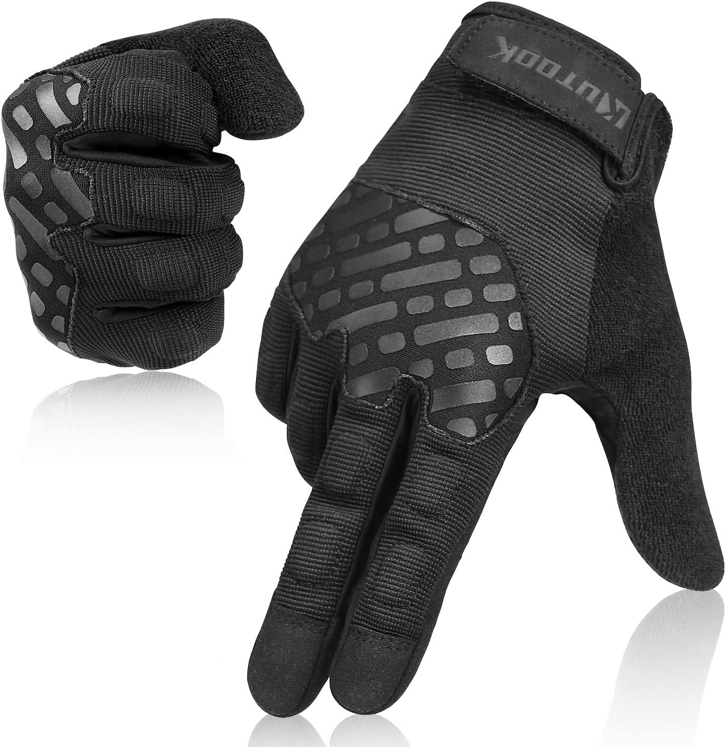 National products Al sold out. Kutook Full Finger EVA Padded Gloves Touch for Men Screen Multip