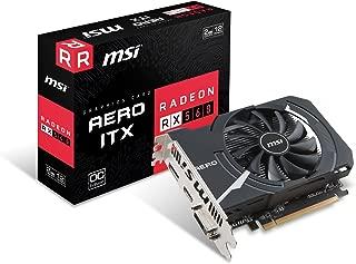 MSI Gaming Radeon RX 560 128-bit 2GB GDRR5 DirectX 12 VR Ready CFX Graphcis Card (RX 560 AERO ITX 2G OC) (Renewed)