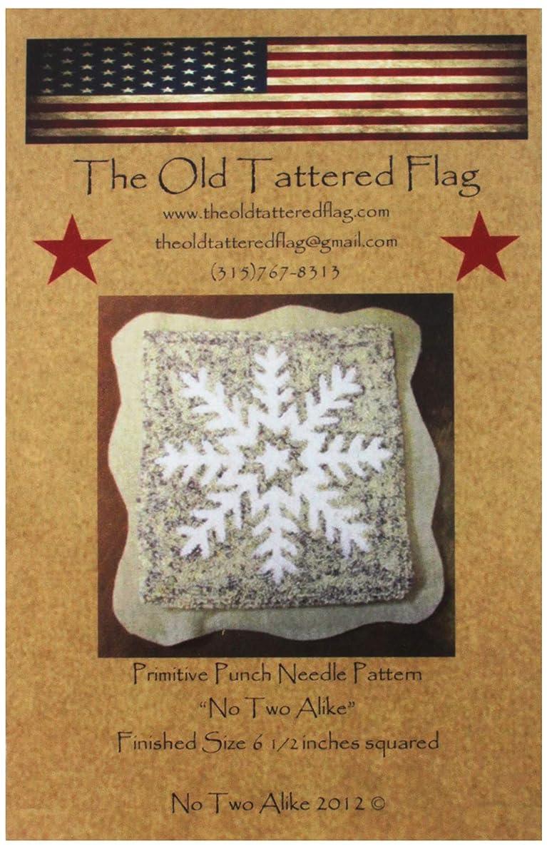 The Old Tattered Flag OTF136 No Two Alike Punch Needle Pattern ygymwk5713