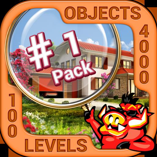 Pack 1 - 10 in 1 Hidden Object Games by PlayHOG