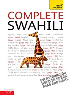 Complete Swahili Beginner to Intermediate Course: Learn to Read, Write, Speak and Understand a New Language with Teach Yourself
