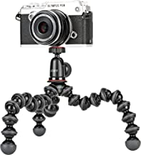 Joby JB01503 GorillaPod 1K Kit. Compact Tripod 1K Stand and Ballhead 1K for Compact Mirrorless Cameras or Devices up to 1k...