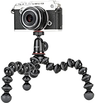 Joby JB01503 GorillaPod 1K Kit. Compact Tripod 1K Stand and Ballhead 1K for Compact Mirrorless Cameras or Devices up ...