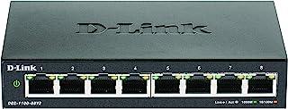 D-Link Australia 8-Port Gigabit Smart Managed Switch (Model: DGS-1100-08V2)