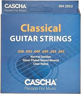 Cascha Premium gitaarsnarenset, nylon snaren voor klassieke en concertgitaren, zeer goede geluidskwaliteit en lange levens...