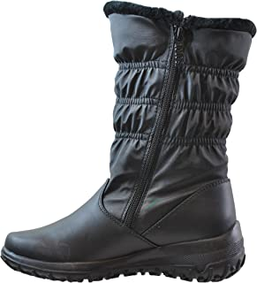 Women's Madina Dual Side Zip Cold Weather Boot (Also Available in Wide Width and Wide Calf)