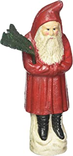 Christmas Decorations - German Kris Kringle Santa Claus Collector Die Cast Iron Still Action Coin Bank - Savings Bank - Pi...