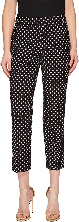 Kate Spade New York - Diamond Cigarette Pants
