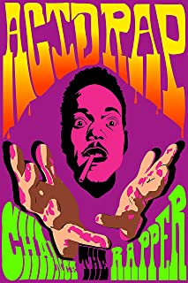 Super Collection Chance the Rapper Acid Rap Poster Print .By (12 inch X 18 inch, Rolled)