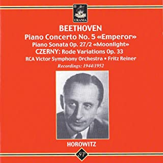 Vladimir Horowitz Plays Beethoven and Czerny