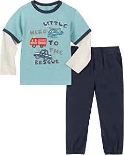 Kids Headquarters Baby Boys 2 Pieces Pants Set