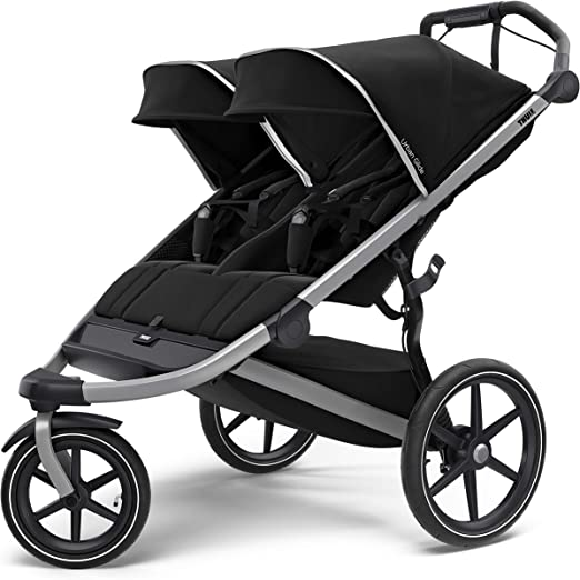 Thule Urban Glide 2 Jogging Stroller - Best Double Stroller With Excellent Maneuverability