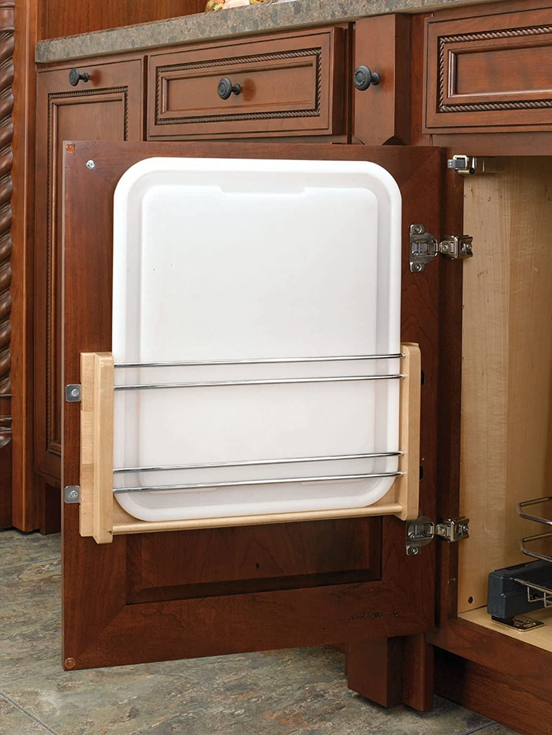 Rev-A-Shelf 4DMCB-18P Large Cabinet Door Mount Polymer Cutting Board