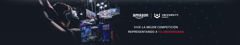Header Amazon University Esports