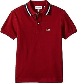Short Sleeve Collar Detail Polo (Infant/Toddler/Little Kids/Big Kids)