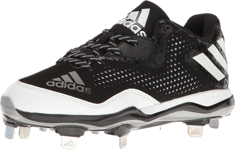 Adidas Performance Woherren PowerAlley 4 W Softball schuhe, schwarz Weiß Metallic Silber, 8 M US B01C9OXGIM  Förderung