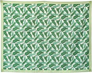 SPICE OF LIFE Vacances Picnic Tablecloth - Leaf, Large, 55