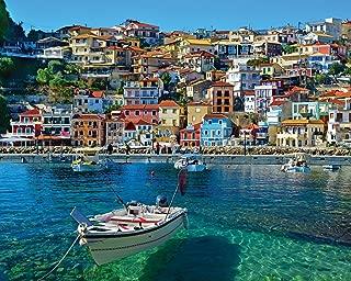 White Mountain Puzzles White Mountain Greece Parga - 1000 Piece Jigsaw Puzzle