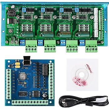 2pcs tb6600 4.5 a Cnc Eje De Motor De Pasos Driver Board Controller
