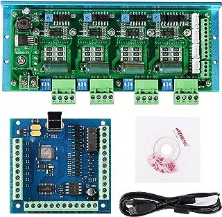 SainSmart CNC TB6600 4 Axis 4.5A Stepper Motor Driver Board, MACH3 USB 4 Axis 100KHz Smooth Stepper Motion Controller Board