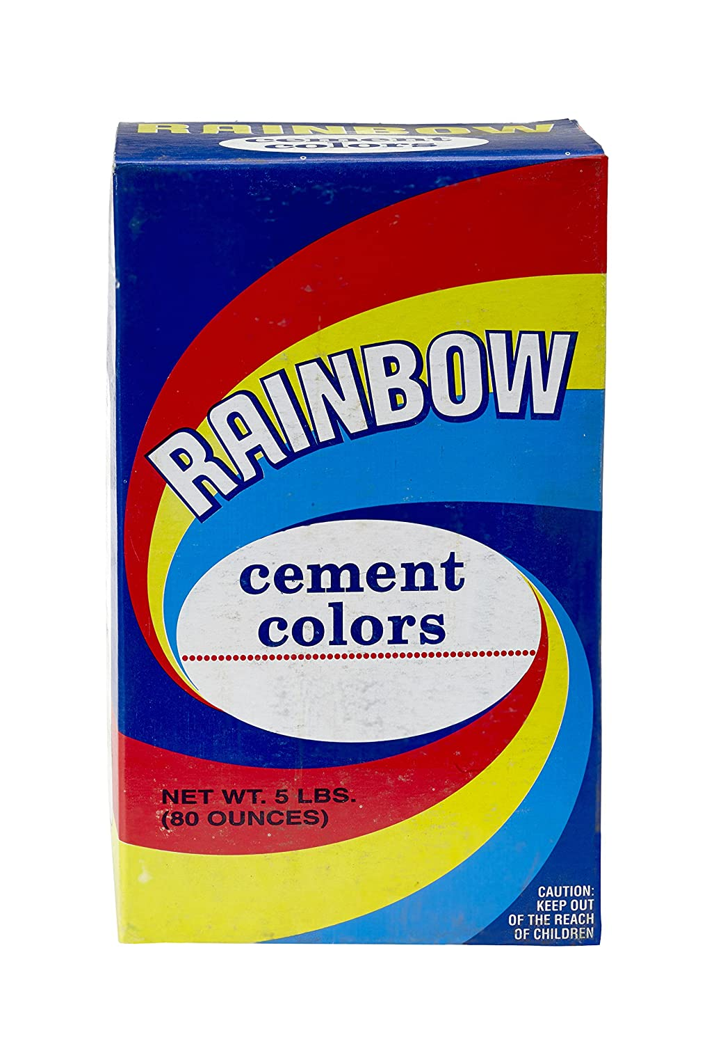 SEAL limited product Mutual Industries 9008-0-5 Popularity Rainbow Cement Color Raw Umber lb 5
