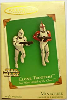 HALLMARK 2003 CLONE TROOPERS FROM STAR WARS ATTACK OF THE CLONE TROOPERS - QXM5127