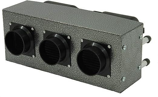 30,000 BTU High Output 12 Volt Auxiliary Heater Quiet Operation Truck Bus Van 3 Speed Fan: image