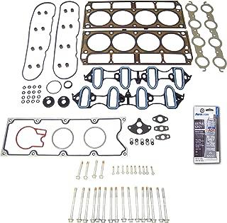 Head Gasket Set Bolt Kit Fits: 01 Chevrolet Sierra 1500 6.0L V8 OHV 16v VORTEC