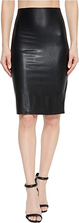 Faux Leather Perfect Pencil Skirt SK01
