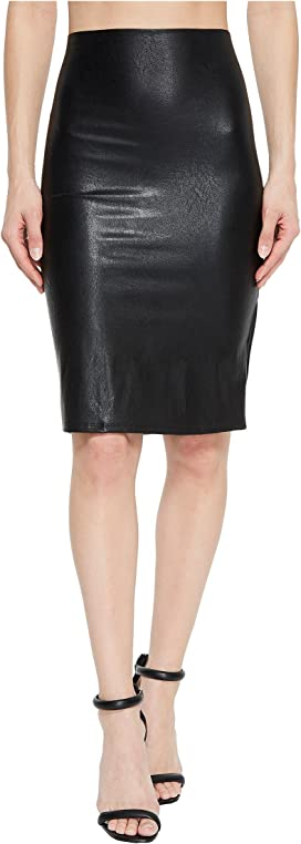 66a95ad1bf Spanx Faux Leather Pencil Skirt at Zappos.com