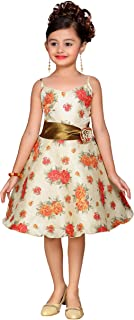 ADIVA Girl's Indian Party Wear Frock for Kids