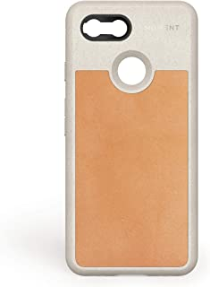 Pixel 3 Case || Moment Photo Case in Tan Leather - Thin, Protective, Wrist Strap Friendly case for Camera Lovers.