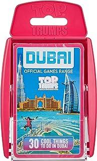 Top Trumps Dubai Top 30 Things Dubai Game Range, Pink, Wm00111-Mea