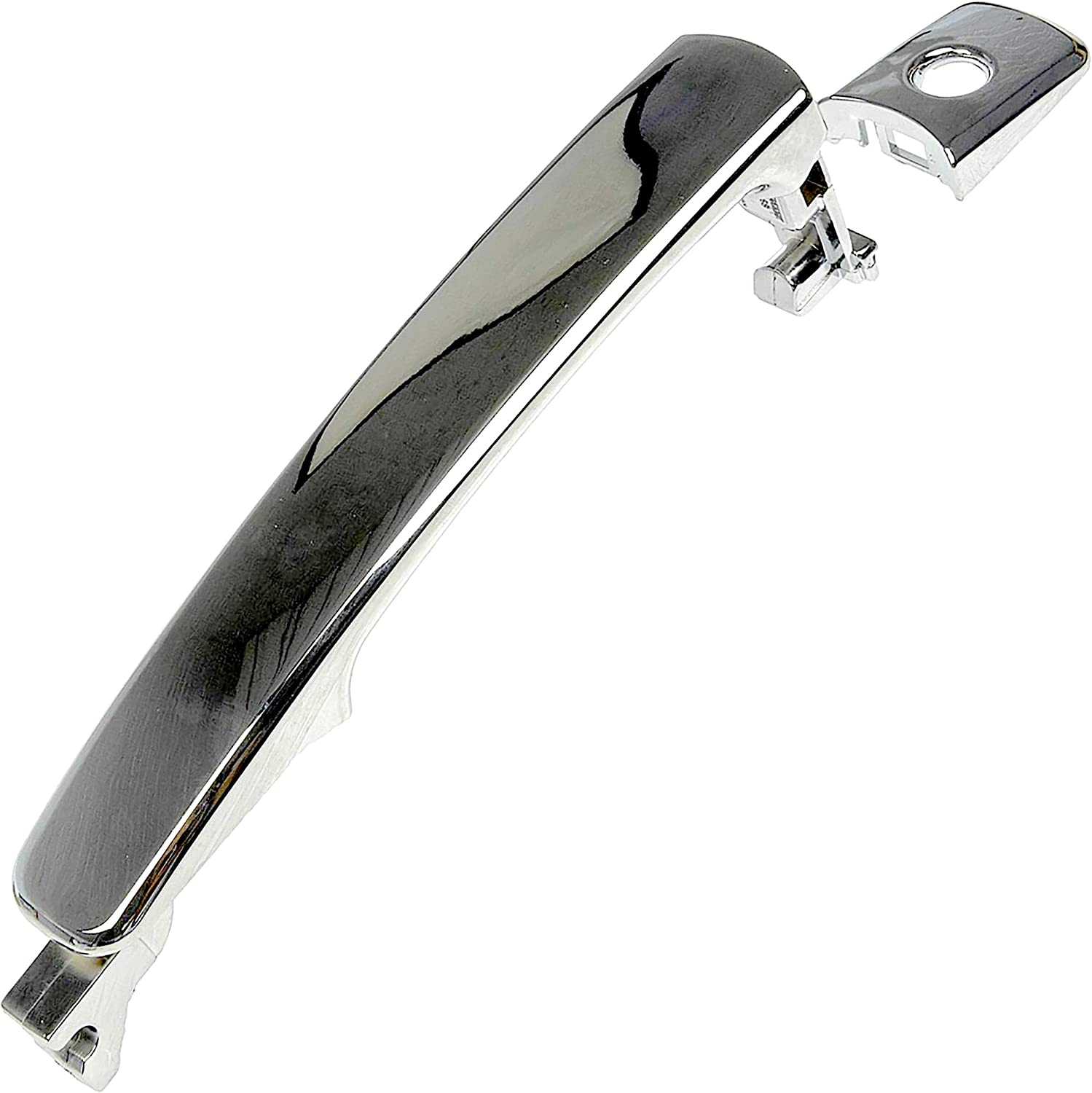 APDTY Luxury Safety and trust goods 92179 Exterior Door Handle Front 8064 Replaces Chrome Left