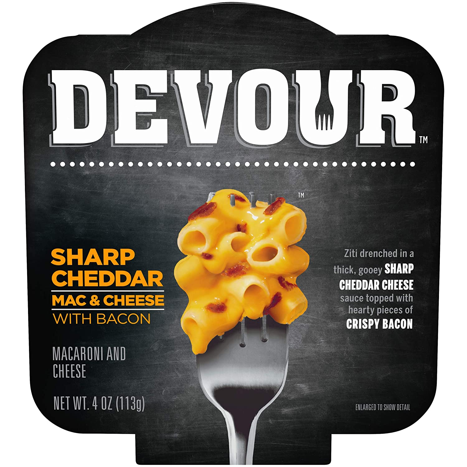 DEVOUR Sharp Cheddar Mac Ranking TOP2 Cheese Bowl with Max 88% OFF 4 oz Bacon