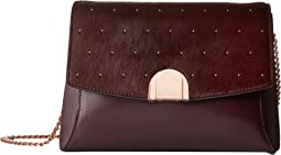 Ted Baker Studded Circle Lock Crossbody Bag