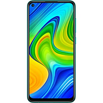 Redmi Note 9 (Aqua Green, 4GB RAM 128GB Storage) - 48MP Quad Camera & Full HD+ Display - 3 Months No Cost EMI on BFL