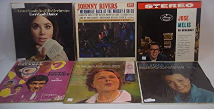1960s Pop Music Lot of 6 Vinyl Record Albums Kay Starr, Kate Smith and more