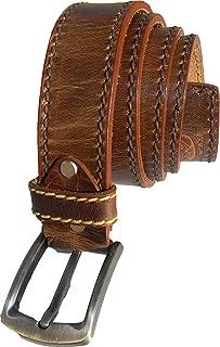 Best brown leather cowboy belt Reviews