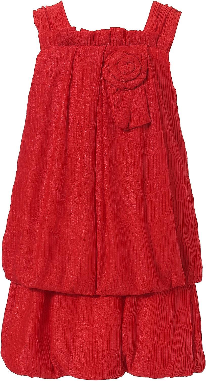 Richie House Little Girls' Dress with Layered Bottom Rh1358