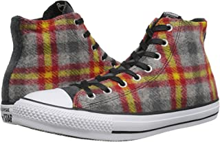 15ba84be Converse All Star Woolrich Mens Wool Trainers Multicolor - 40 EU