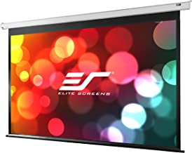 Elite Screens VMAX2, 120-inch 16:9, Wall Ceiling Electric Motorized Drop Down HD Projection Projector Screen, VMAX120XWH2