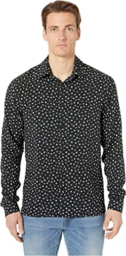 Small Dot Print Shirt