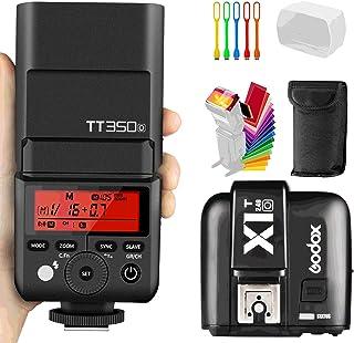 ضوء سريع للكاميرا 2.4G GN36 بمزامنة عالية السرعة TT350O TTL 2.4G GN36 1/8000s من جودوكس إضاءة السرعة مع جهاز إرسال X1T-O ا...