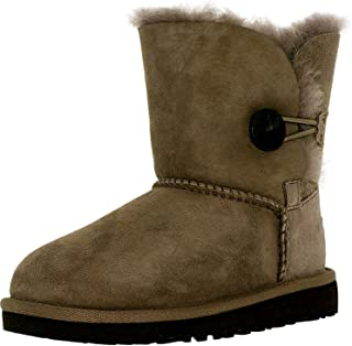 UGG Girl's Bailey Button T Mid-Calf Wool Snow Boot