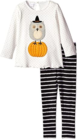 Halloween Owl Tunic & Leggings Set (Toddler)