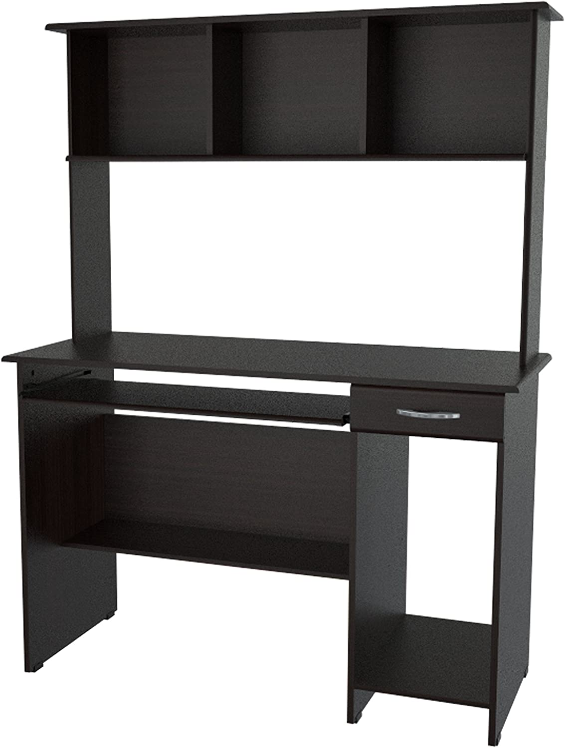 Inval Computer Max 89% OFF Workcenter Cheap SALE Start Espresso-Wengue with Hutch