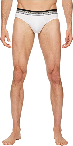 Dolce & Gabbana - Pima Stretch Cotton Midi Brief