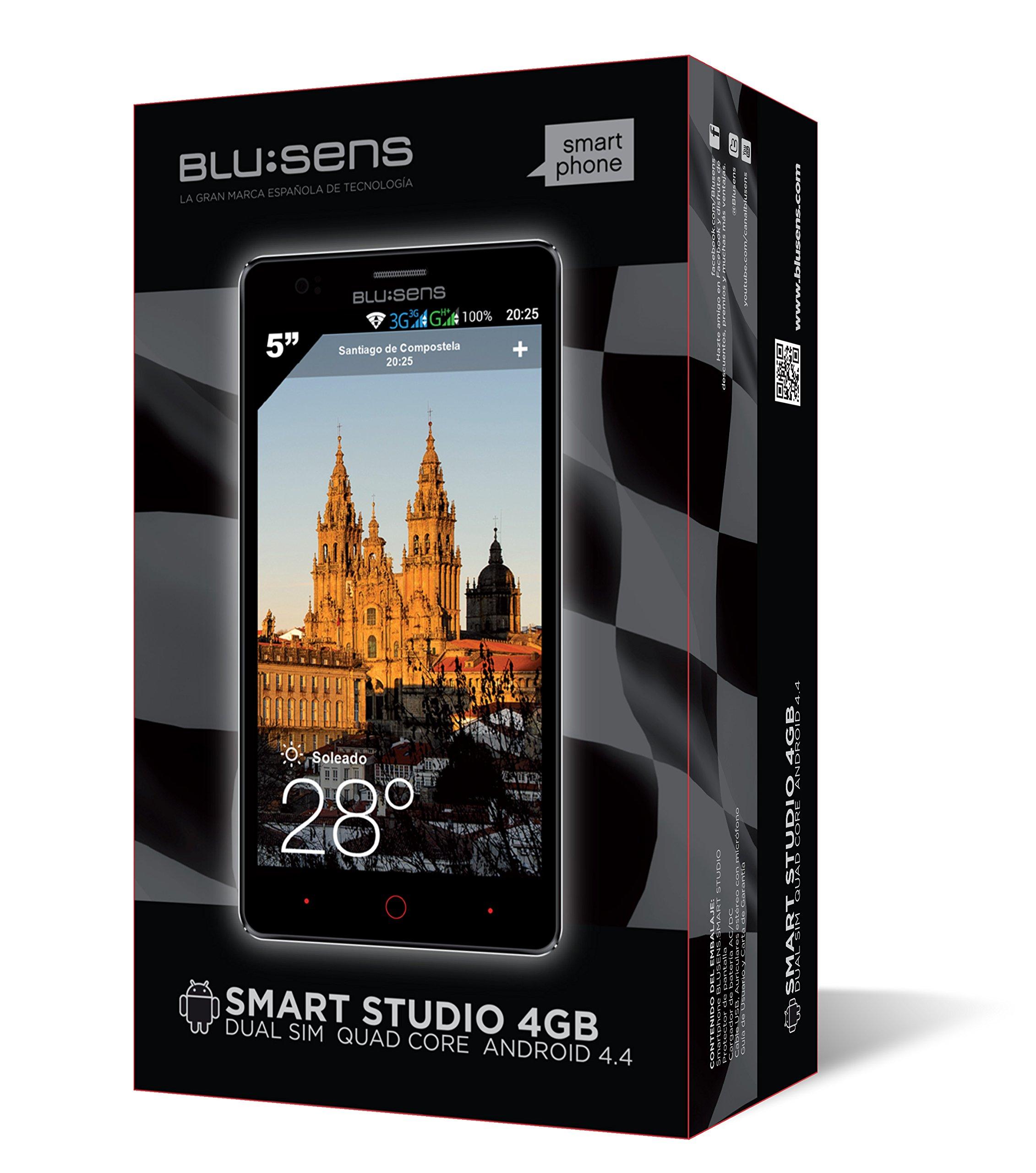 MÓVIL Libre BLUSENS Smart Studio Blanco 5 Pulgadas Smartphone Free ...