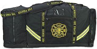 Lightning X Fireman Premium 3XL Firefighter Rescue Step-in Turnout Fire Gear Bag w/Shoulder Strap & Helmet Pocket